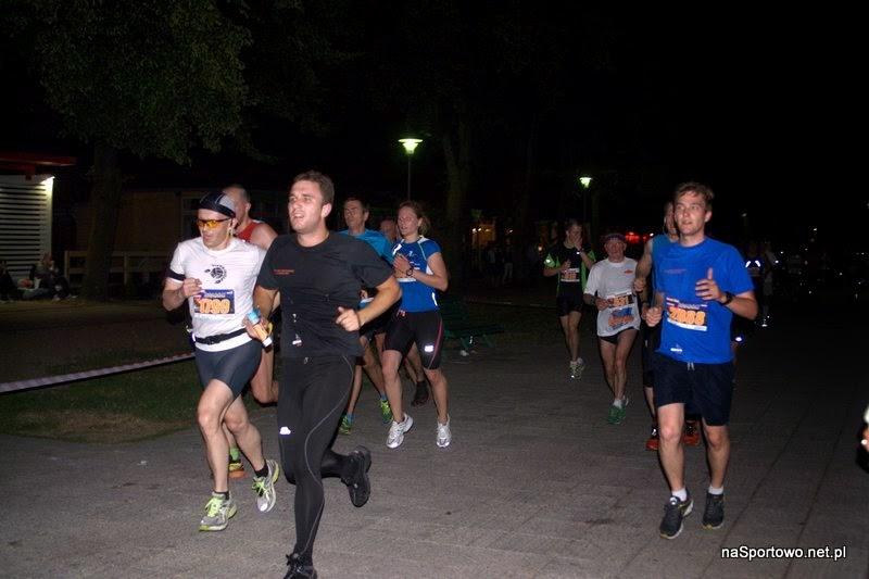 Pierwszy bieg. Nocny Bieg Świętojański w Gdyni (10 km) - czerwiec 2013.