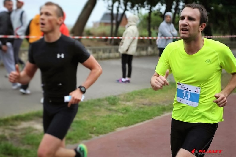Zdjęcie z pierwszej edycji Biegu do Źródeł. Czerwiec 2014. Fot. Kujatt Runners Team
